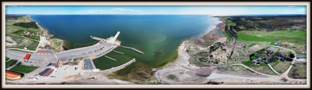 Kuivastu sadam. Muhumaa. Saaremaa.