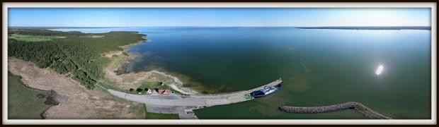 """Triigi sadam. Leisi. Parvlaev """"Kõrgelaid"""". Saaremaa"""