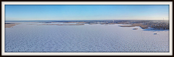Haapsalu-Noarootsi jäätee. Ice Road. Aerofoto. Aerial photo