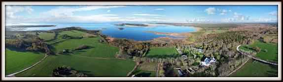 Pädaste mõis. Muhumaa. Aerofoto. Aerial photo. Aerial panorama