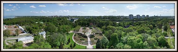 Kadrioru park. Roosimägi. Aerofoto. Aerial photo. Aerial panorama