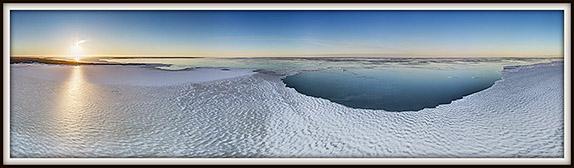 Jäämeri. Väinameri. Aerofoto. Aeropanoraam. Aerial photo.