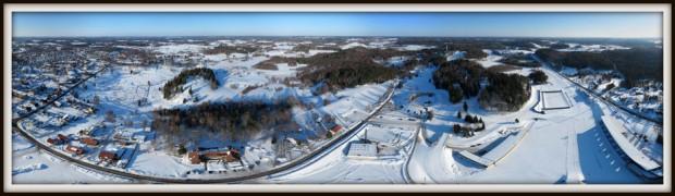 Otepää suusastaadion, Otepää linn, Tehvandi