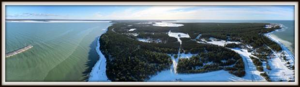 Saaremaa Sadam, Ninase küla, Küdema laht