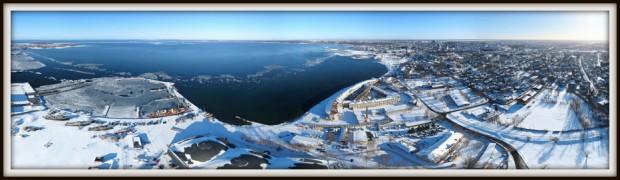 Tallinn, Lennusadam, Suur Tõll, Vesilennukite angaarid, Patarei