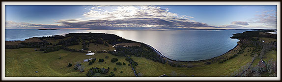 Saarnaki. Hiiumaa laiud. Aerofoto. Aeropanoraam. Aerial panorama.